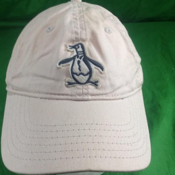 Original Penguin General Beanie Red Mens Womens Winter Hat Authentic Designer